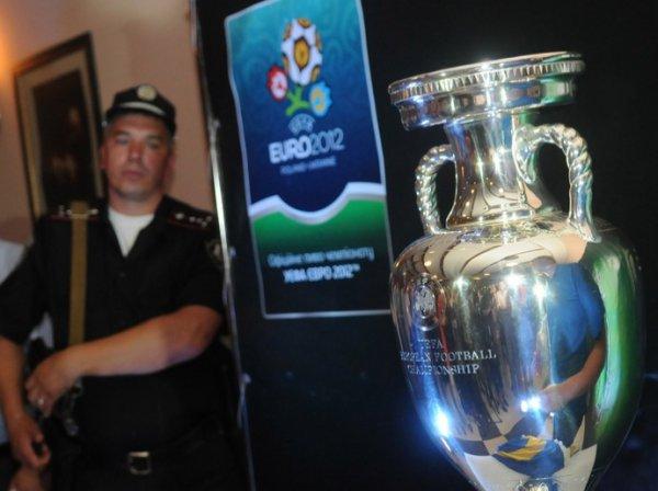 Кубок Европы под охраной во Львове
