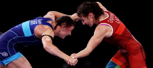 Коляденко выиграла бронзу ОИ-2020 по борьбе