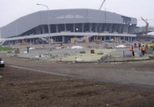 Интерфакс-Украина: Арена Львов похожа на стройплощадку