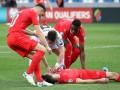 Ананидзе спас жизнь игроку сборной Швейцарии во время матча