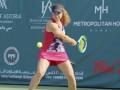 Снигур вышла в четвертьфинал турнира ITF в Дубае