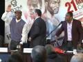 Пресс-конференция Хопкинса и Паскаля закончилась потасовкой боксеров
