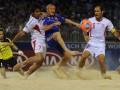 Пляжный футбол. Украине не хватило одного гола до 1/4 финал ЧМ