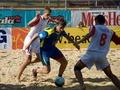Пляжный футбол: Киевляне побеждают в Харькове