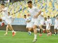 Сборная Украины провела открытую тренировку на Арене Львов