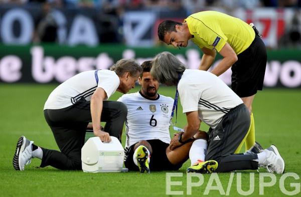 Хедира получил повреждение в начале матча