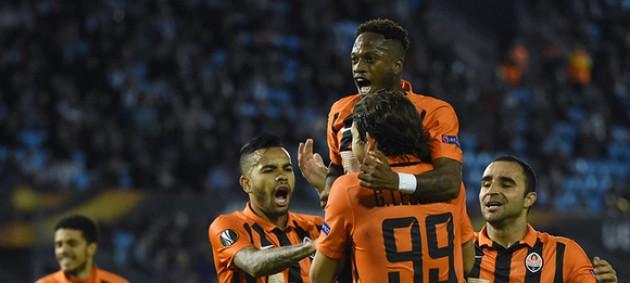 Шахтер - Сельта 0:0 Онлайн трансляция матча Лиги Европы