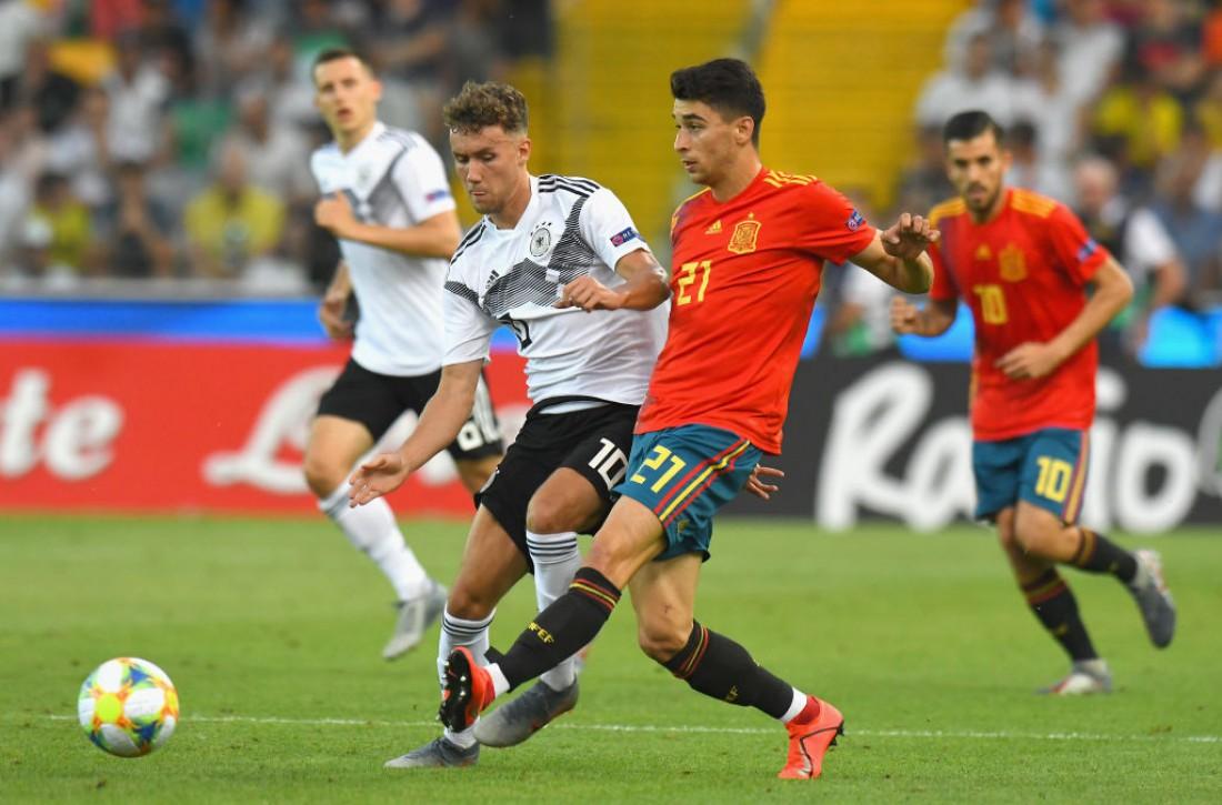 Испания - Германия: видео голов