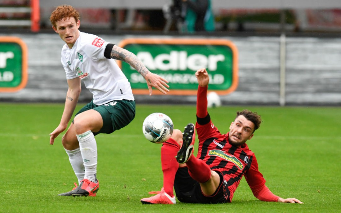 Фрайбург - Вердер: видео гола и обзор матча