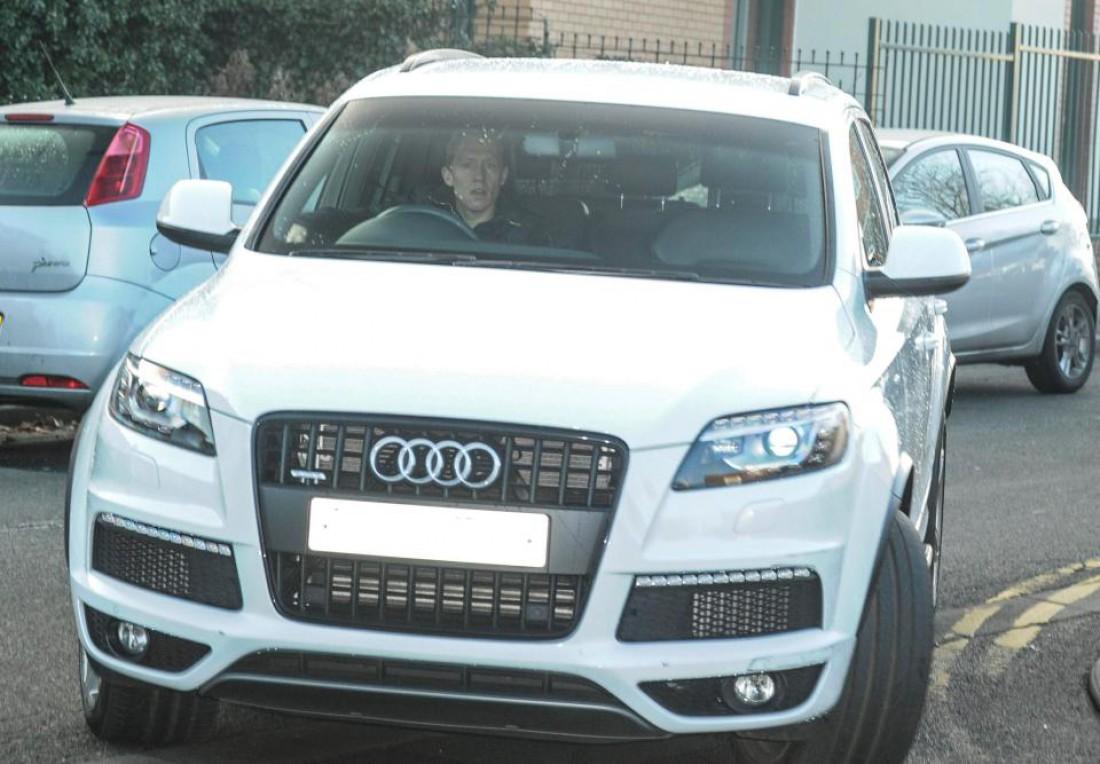 Полузащитник Лукас в Audi Q7