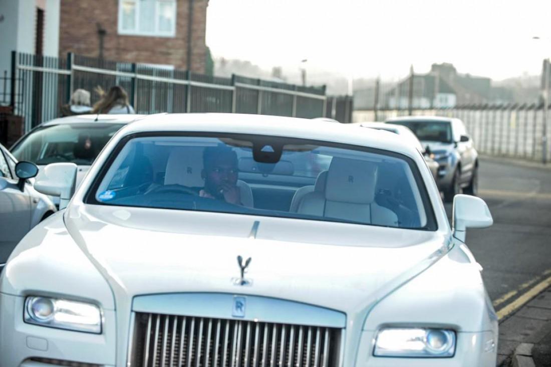 Дэниел Старридж в Rolls Royce