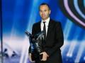 Андрес Иньеста признан лучшим футболистом Европы