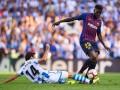 Защитник Барселоны выбыл из строя минимум на три недели из-за травмы колена