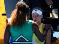 Серена Уильямс после победы над Ястремской утешила плачущую соперницу
