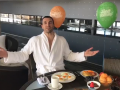 Счастливый Кличко поделился радостью достижения в плавании