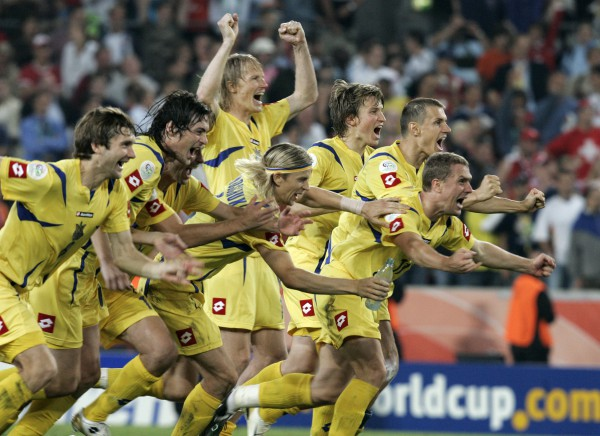 Самые яркие победы сборной украины