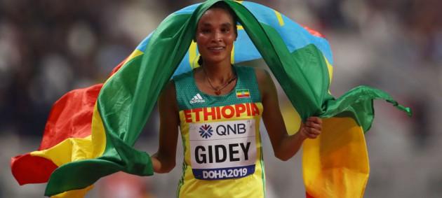 Эфиопская легкоатлетка установила новый мировой рекорд в полумарафоне