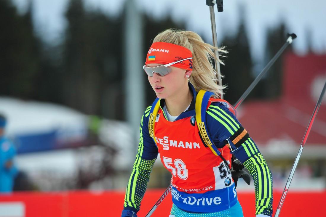 Яна Бондарь - лучшая из украинок в индивидуальной гонке