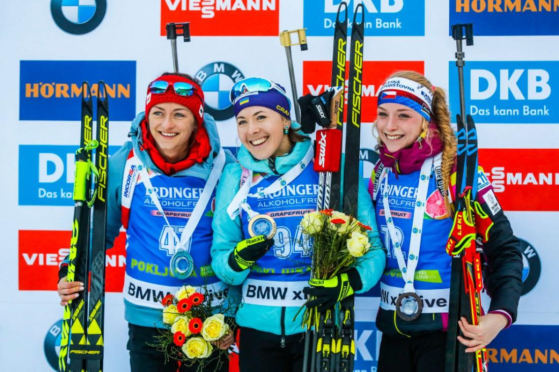 Юлия Джима была победительницей индивидуальной гонки в Поклюке