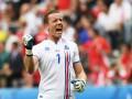 Сборная Исландии выходит в плей-офф, одержав первую победу на Евро-2016