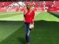 Посол ЧМ-2018 Лопырева поддержала МЮ в матче с Вест Хэмом