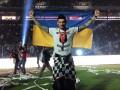 Бойко с флагом Украины отпраздновал чемпионство Бешикташа