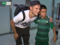 Зозуля прилетел в Испанию: Как украинца встречали болельщики Бетиса