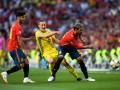 Швеция - Испания 1:1 как это было