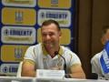 Литва - Украина: видео онлайн трансляция пресс-конференции Андрея Шевченко
