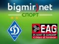 Динамо Киев - Генгам 3:1 трансляция матча 1/16 финала Лиги Европы