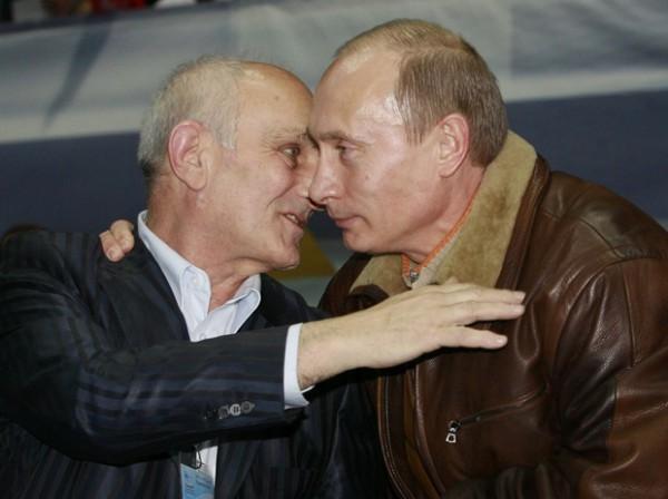 Анатолий Рахлин и Владимир Путин