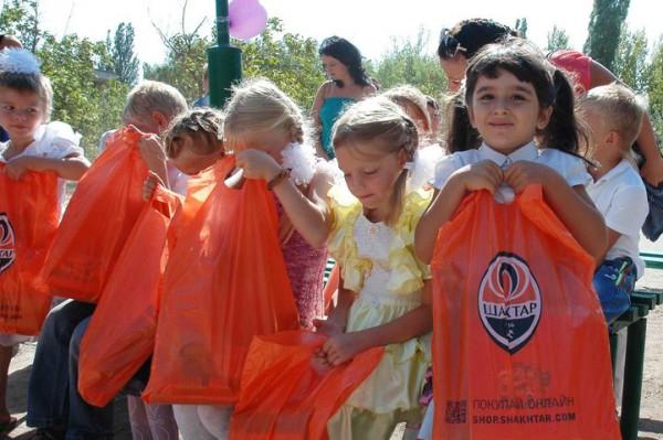 Шахтер помог школьникам-переселенцам