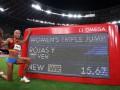 Венесуэльская прыгунья Рохас обновила рекорд украинки Кравец
