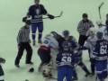 Хоккейные вратари устроили разборки во время послематчевого рукопожатия