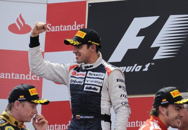 Мальдонадо выиграл этап впервые в карьере