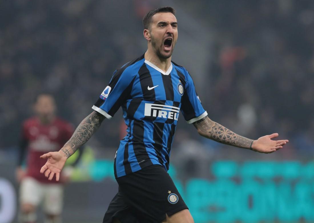 Интер - Милан: лучшие кадры матча