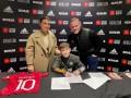 Сын Руни подписал контракт с Манчестер Юнайтед