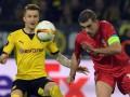 Боруссия и Ливерпуль сыграли вничью в первом матче 1/4 финала Лиги Европы