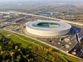 На стадионе к Евро-2012 во Вроцлаве состоялся первый футбольный матч