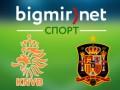 Голландия - Испания 2:0 трансляция матча