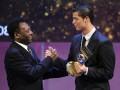 Пеле поздравил Роналду с рекордом результативности