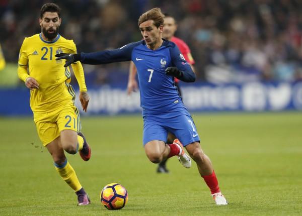 Франция обыграла Швецию