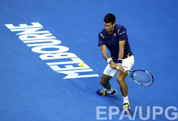 Новак Джокович в финальном матче Australian Open-2016