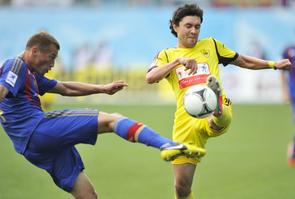 ЦСКА переиграл Анжи