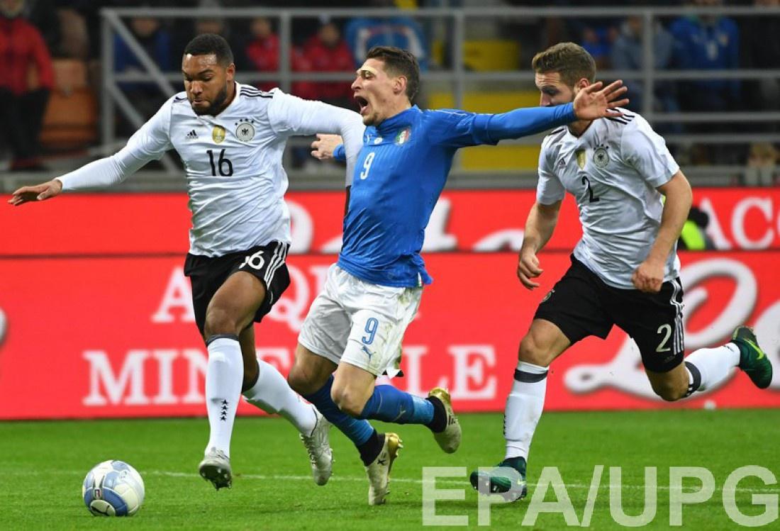 Товарищеские матчи: Италия – Франция 0:0