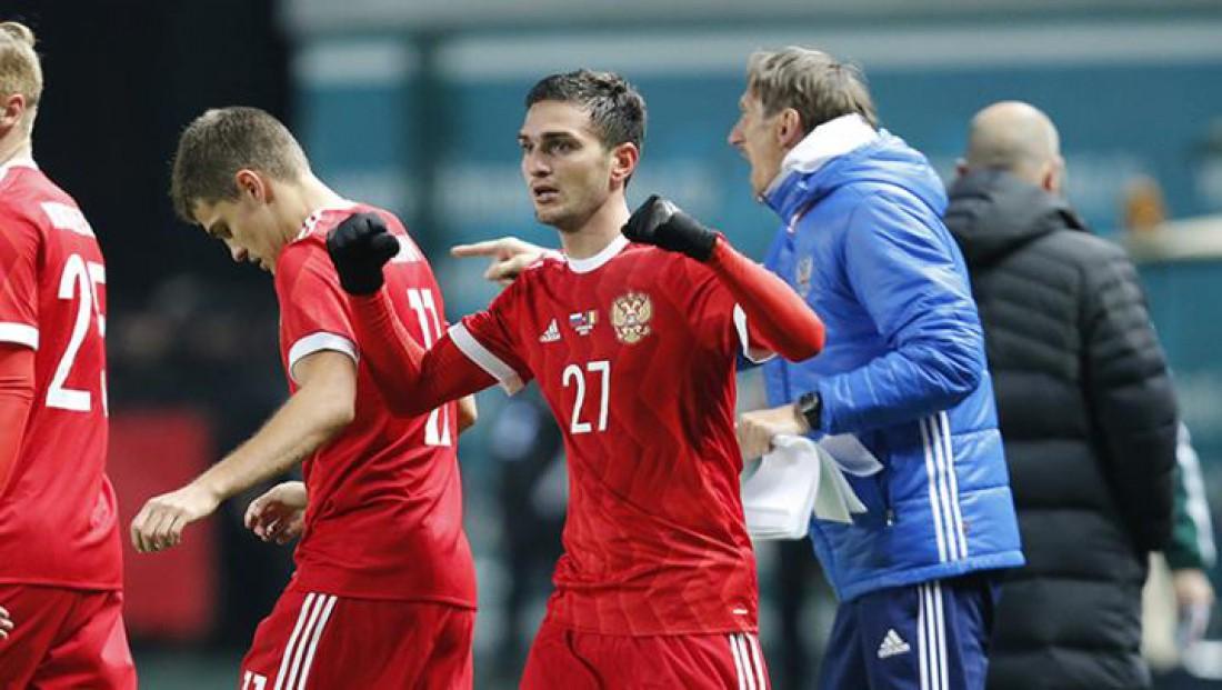 Товарищеские матчи: Россия – Румыния 1:0