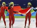 Шорт-трек: Китаянки с мировым рекордом побеждают в эстафете