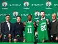 Ирвинга и Хейворда представили в качестве игроков Бостона