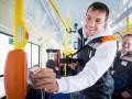 Нападающий Зенита поработал кондуктором в трамвае