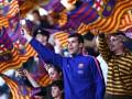 Неизвестный фанат Барселоны оставил у офиса клуба семь коробок пиццы